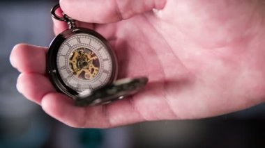 Pocket Watch Ticking — Stock Video
