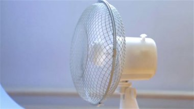 Ventilator Blowing Wind — Stock Video