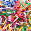 Colorful decorative gift ribbons as background — Stock Photo #52473043