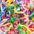Colorful decorative gift ribbons as background — Stock Photo #52473055