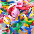Colorful decorative gift ribbons as background — Stock Photo #53399311