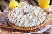 Limon kremalı pasta — Stok fotoğraf