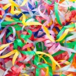 Colorful decorative gift ribbons as background — Stock Photo #57863575