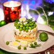 Russian traditional salad Olivier — Stock Photo #60941821