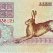 1 rouble 1992 Belarus front side — Stock Photo #60578651