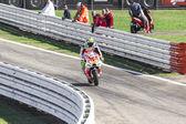 Andrea Iannone of Ducati Pramac team racing — Stock Photo