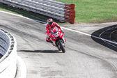 Andrea Dovizioso of Ducati Official team racing — Stock Photo