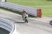 Stefan Bradl of Honda LCR Team racing — Stock Photo