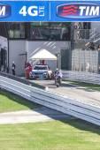 Jorge Lorenzo of Yamaha Factory team racing — Stockfoto
