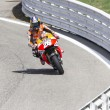 Постер, плакат: Dani Pedrosa of Repsol Honda team racing