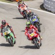 Pits exit Misano Adriatico MotoGP race — Stock Photo #54345453
