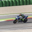 Постер, плакат: Valentino Rossi of Yamaha Factory team racing