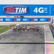 Starting grid of the MotoGP race in Misano — Stock Photo #54346433