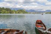 Lake Bled in Slovenia, Spring 2015 — Stock Photo