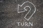 Turn around — Stock Photo