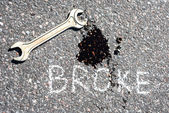 Repair wrench — Stock Photo