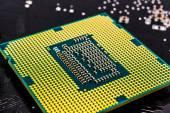 Computer processor close-up — Stock Photo