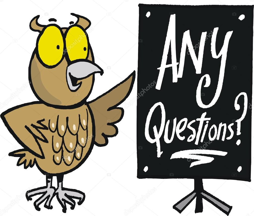 vector cartoon of wise owl with notice saying any wise old owl clip art wise owl images clipart