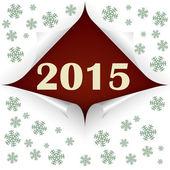 Stočené rohy 2015 — Stock vektor