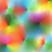 Vector of spectrum spirograph abstract background — Stock Vector