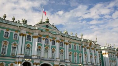Hermitage Museum or Winter Palace — Stock Video