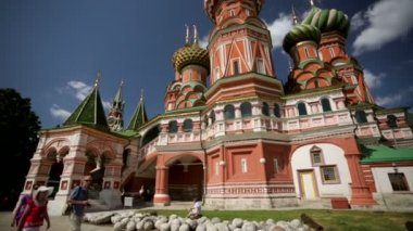 St. Basil Cathedral — Stock Video