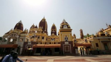 View of Laxminarayan Temple. — ストックビデオ