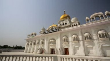 Gurdwara Bangla Sahib — Stock Video