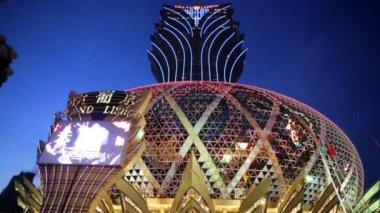 Grand Casino Lisboa — Stock Video