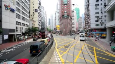 Hong Kong city view — Stock Video