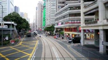Hong Kong city view — Stockvideo