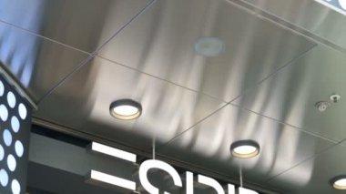 Logo značky Esprit — Stock video