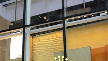 Rolex logo in Hong Kong — Stock Video