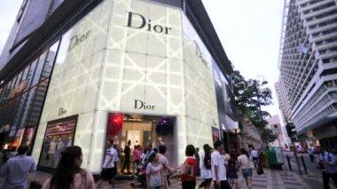 Dior store in Hong Kong — Vídeo stock