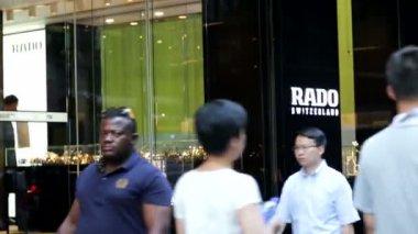 Rado store in Hong Kong — Stock Video
