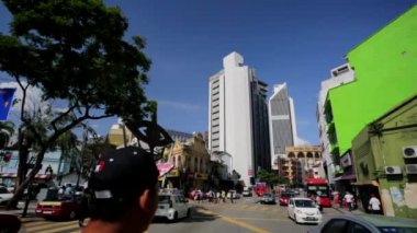 Kuala Lumpur streetview — Stock Video