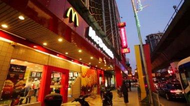 McDonald's Restaurant exterior — Stock Video