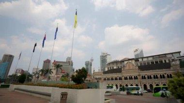 Sultan Abdul Samad Building — Stock Video