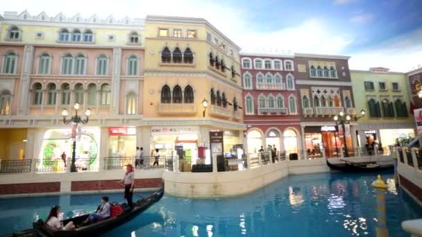Venetian shopping mall — Vidéo