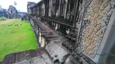 Famous Khmer temple — Stock Video