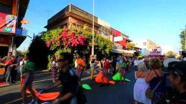 38th Anniversary Chiang Mai Flower Festival — Stock Video