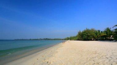 Sokha beach view — Stock Video