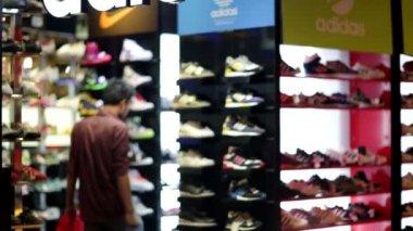 Adidas store in Kuala Lumpur — Stock Video