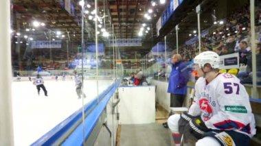 Dinamo vs torpédo hra — Stock video