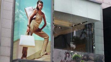 Aigner store in Kuala Lumpur — Stock Video