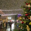 Christmas fair at Kuznetsky Most — Stock Video #62814383