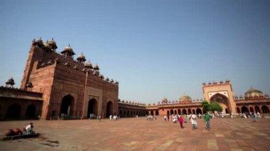 Jama Masjid Mosque — Stock Video