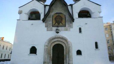 Klasztor marii i marty — Wideo stockowe