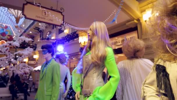 Public exhibition of costumes — Vidéo