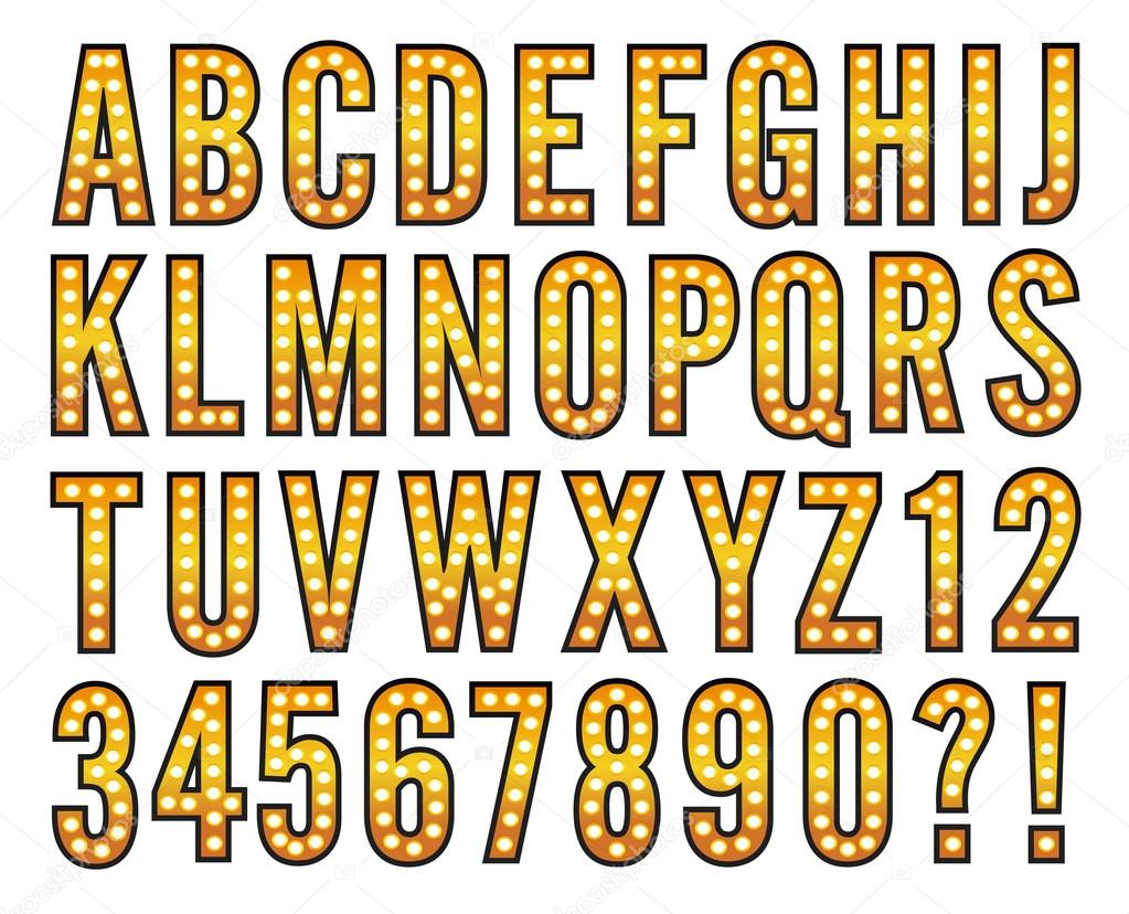 broadway light alphabet marquee bulb sign stock vector new york city vector map new york city victory arch